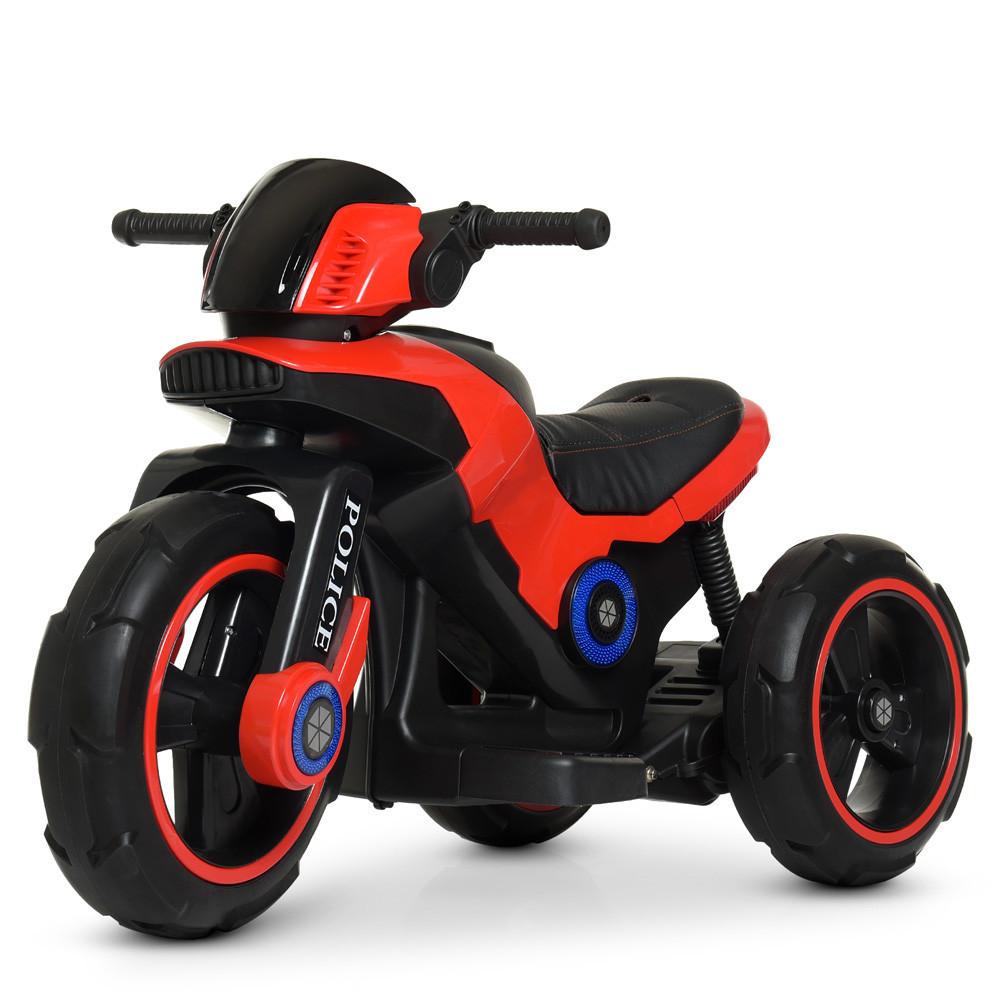 Мотоцикл Bambi M 4228EBL-3 Красный