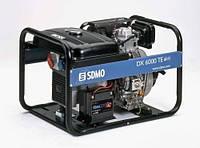Трехфазный дизельный генератор SDMO DХ 6000 TE (5,2 кВт)