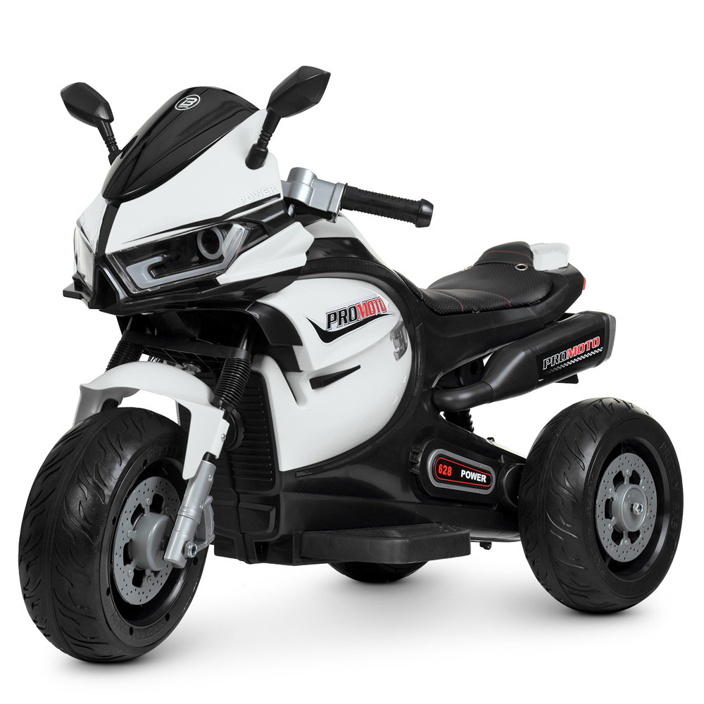Мотоцикл Bambi M 4265EL-1 Белый