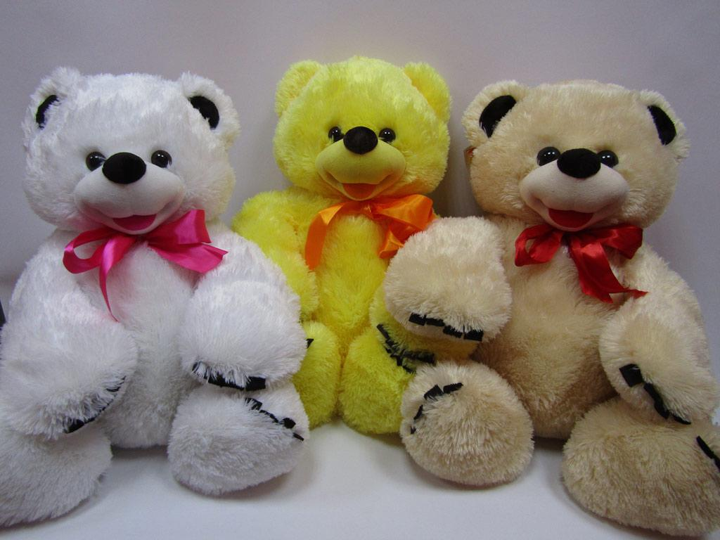 Медведь Веселун 59*62см, 6 цветов