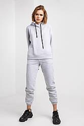 Спортивный костюм женский теплый, меланж Лиди | размеры XXS,XS,S,M