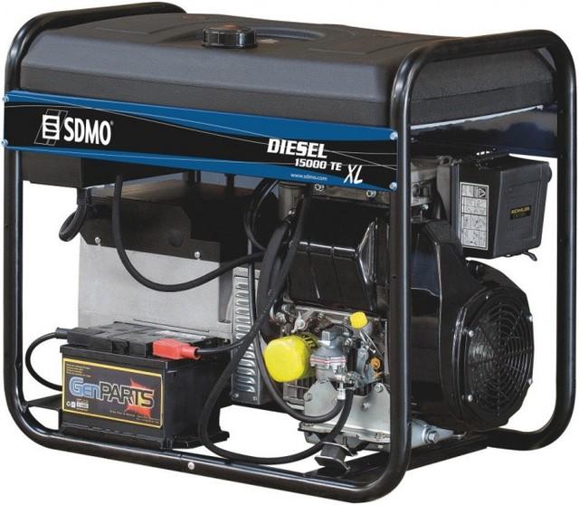 Трехфазный дизельный генератор SDMO Diesel 15000 TE-XL + MODYS (10 кВт)