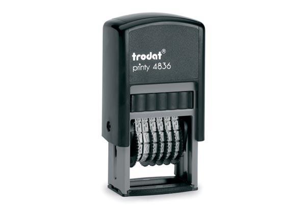 Нумератор Trodat пластиковий 6-розрядний, 3,8 мм