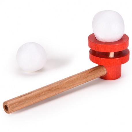 Трубочка для дыхательной гимнастики MiDeer Toys (красная)