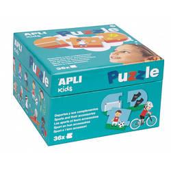 Пазл для малюків «Види спорту» 36 елементів Apli kids