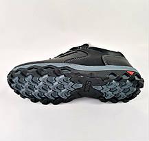 Кроссовки ЗИМНИЕ Мужские Colamb!a Туфли на Меху Чёрные (размеры:40,41,43,44,45), фото 2