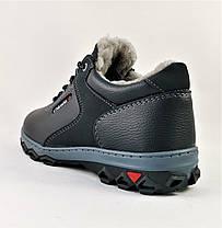 Кроссовки ЗИМНИЕ Мужские Colamb!a Туфли на Меху Чёрные (размеры:40,41,43,44,45), фото 3