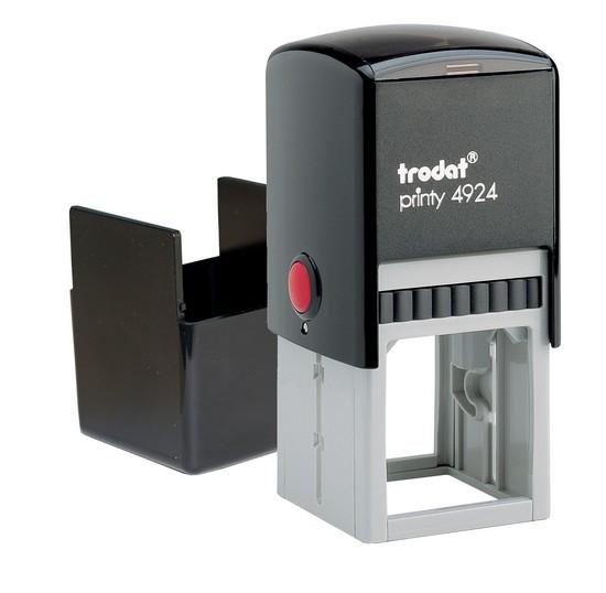 Оснастка Trodat для печатки і штампу пластмасова 40 * 40мм квадратний корпус