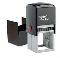 Оснастка Trodat для печатки і штампу пластмасова 40 * 40мм квадратний корпус, фото 1