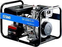 Однофазный дизельный генератор SDMO Diesel 6000 E (5,2 кВт)