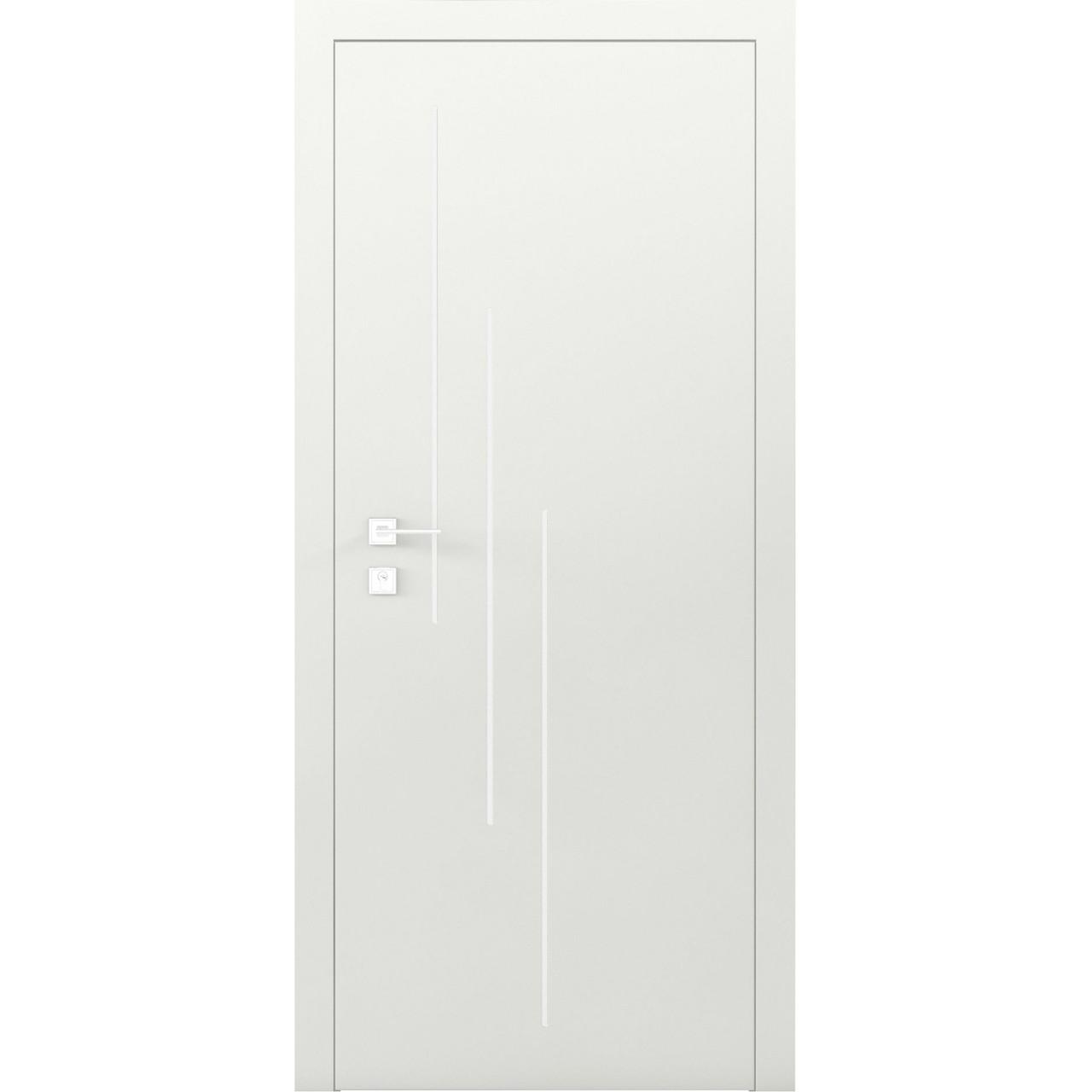 Двери RODOS Cortes PRIMA 3V белый мат