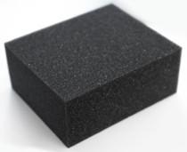 Губка GRASS черная химически стойкая (120 * 100 * 50мм) IT-0453