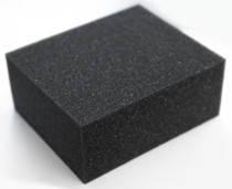 Губка GRASS чорна хімічно стійка (120 * 100 * 50мм) IT-0453