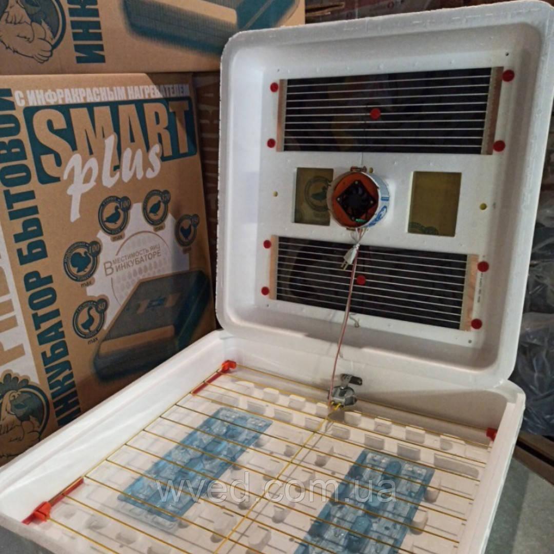 Автоматический инкубатор Рябушка Смарт Турбо 120 яиц цифровой