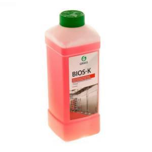 """Лужний миючий засіб GRASS """"Bios-K"""" 1л 270100"""
