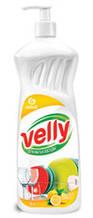 """Миючий засіб для миття посуду GRASS """"Velly"""" (лимон) 1л 125427"""