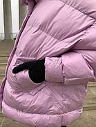 Женский короткий пуховик RUFUETE 19775-liloviy, фото 9