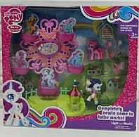 Карусель для пони My Little Pony, свет, музыка, Качели с пони 789