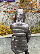 Куртка зимняя эко-кожа AnaVista 06-5, фото 4