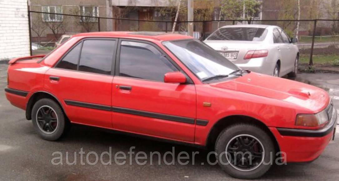 """Дефлекторы окон (вставные!) ветровики Mazda 323 """"BG"""" 4d 1989-1994 sedan 2шт., HEKO, 23104"""