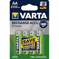 4шт акумулятор R06 Varta AA 2100 Ready 2 Use