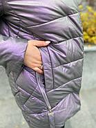 Куртка зимова еко-шкіра AnaVista 06-12, фото 6