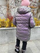Куртка зимова еко-шкіра AnaVista 06-12, фото 4
