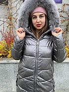 Куртка жіноча зимова AnaVista 10-1-5, фото 3