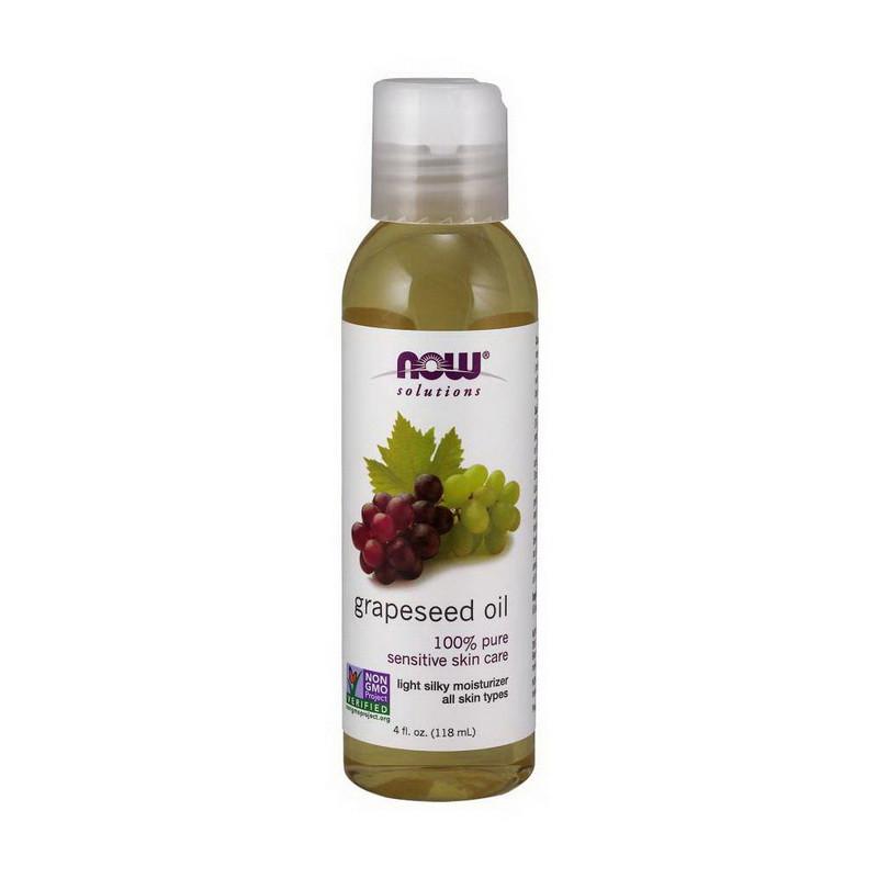 Масло виноградных косточек Now Foods Grapeseed Oil (118 ml, pure)