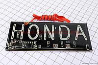 Светодиодная табличка - номер на мототехнику