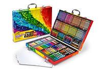 Арт кейс Crayola для творчості Minions, в наборі 120 предметів, Крайола