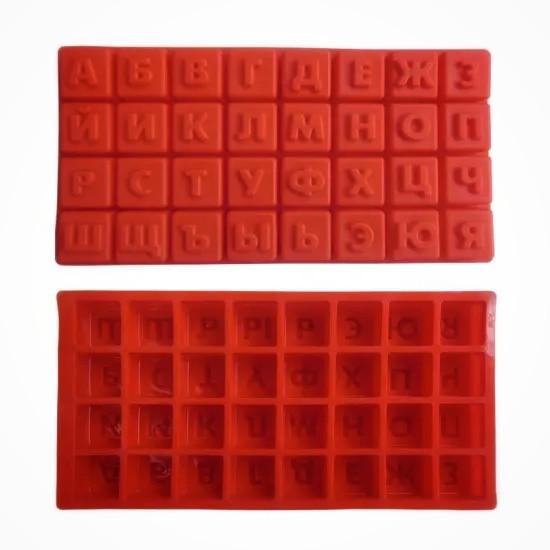 Форма силиконовая для выпечки Русский алфавит