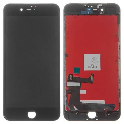 Дисплей (екран) для iPhone 7 Plus A1786 з сенсором (тачскрін) чорний TianMa, фото 2