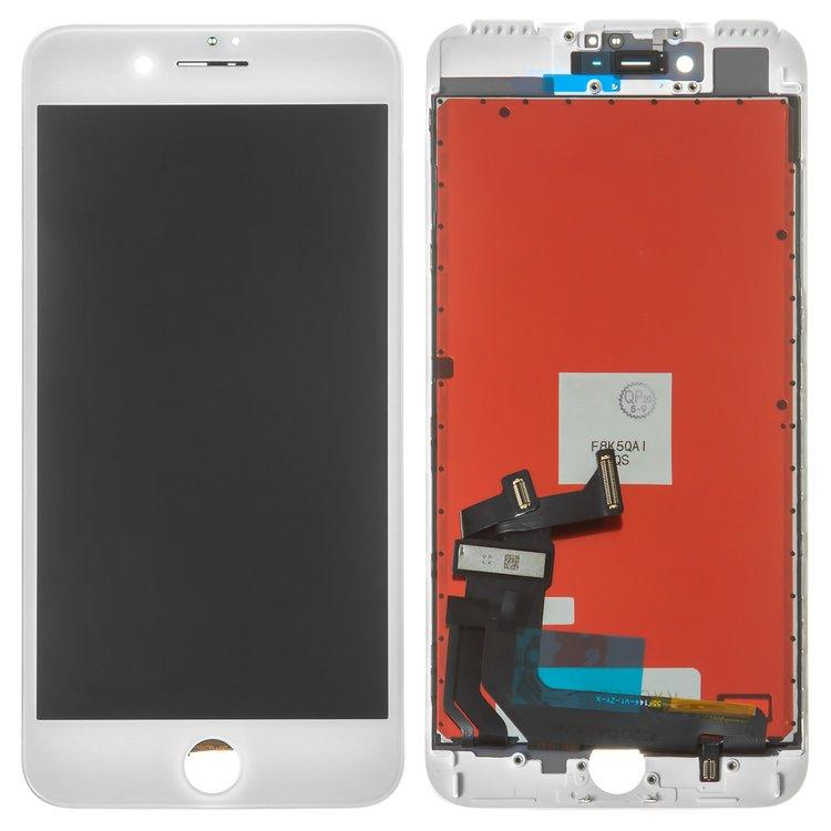 Дисплей (екран) для iPhone 7 Plus A1786 з сенсором (тачскрін) білий TianMa