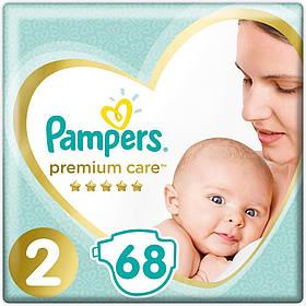 Підгузники Pampers Premium Care Розмір 2 (4-8 кг) 68 шт памперс преміум