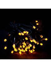 Гирлянда на 500 LED 30м, желтая