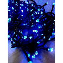 Гирлянда на 500 LED 30м, синяя