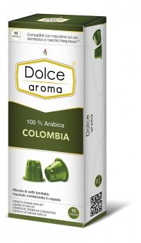 Кофе в капсулах Nespresso Dolce Aroma Colombia 6, Италия 100% Арабика Неспрессо
