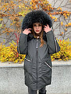 Пуховик зимовий з капюшоном CHANEVIA 92012-25, фото 2