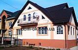 Лак фасадный для нанесения на мозаичную штукатурку German Stone 1 л., фото 4