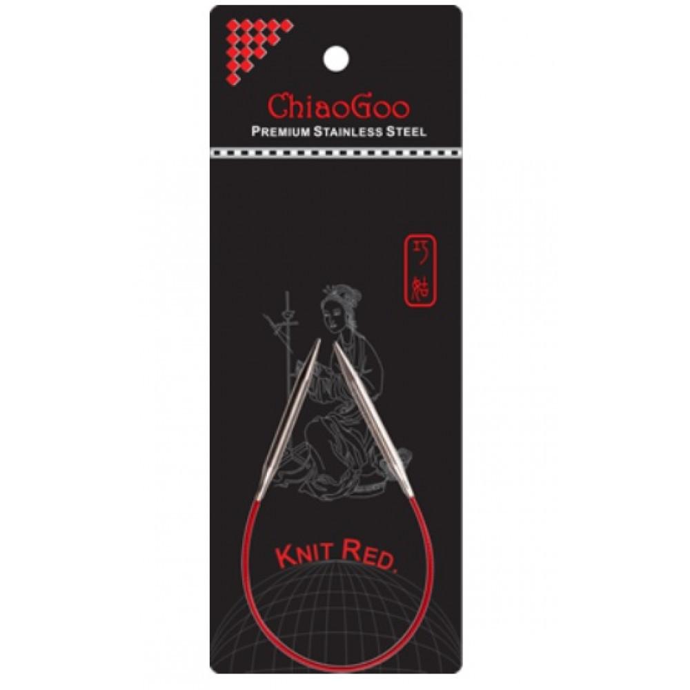 Спицы   круговые 2.0- 23 см.Knit Red ChiaoGoo