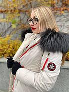 Пуховик женский светлый  CHANEVIA 92031-S27, фото 4
