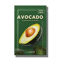 Тканевая маска с экстрактом авокадо The Saem Natural Avocado mask sheet