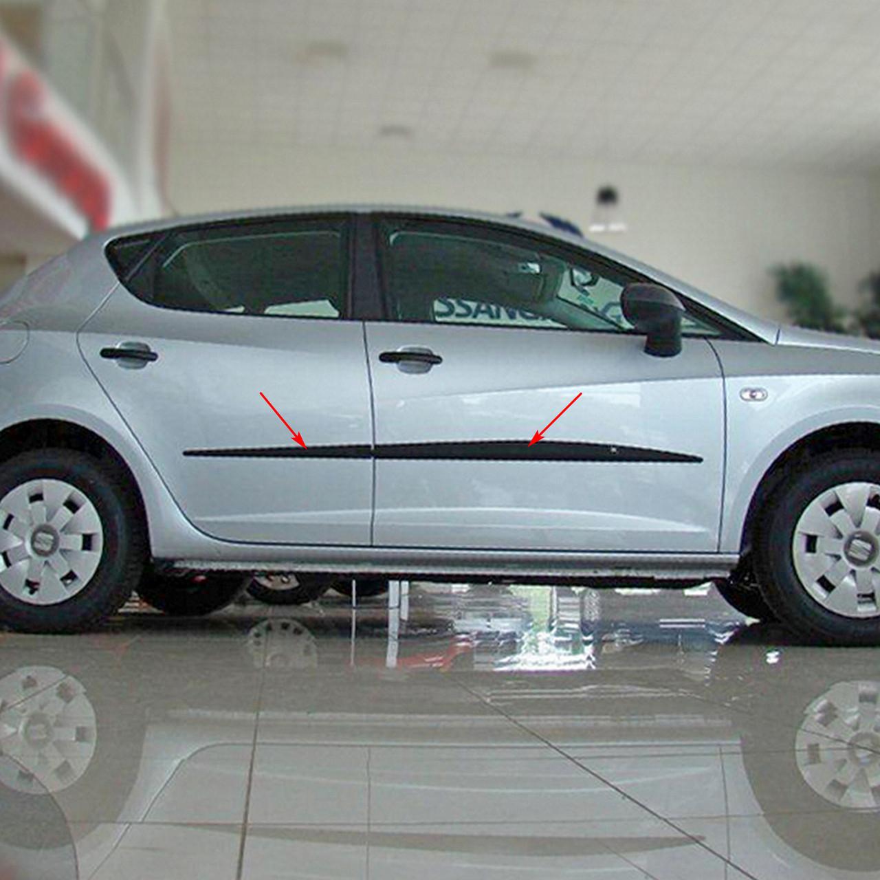 Молдинги на двері для Seat Ibiza IV 5 door 2008-2012