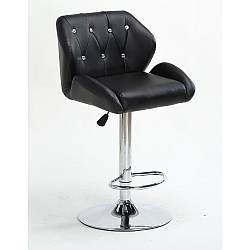 Барный стул для визажа высокий стульчик с подставкой для ног мод НС 949W