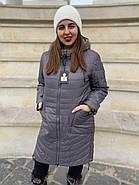 Куртка женская  длинная CORUSKY M-08-4, фото 2
