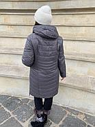 Куртка женская  длинная CORUSKY M-08-4, фото 3