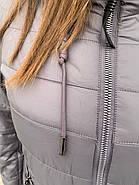 Куртка женская  длинная CORUSKY M-08-4, фото 7