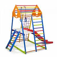 Дитячий спортивний комплекс KindWood Color Plus 1, 2,3 . SportBaby