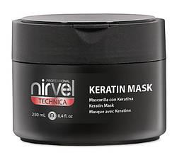 Відновлююча кератиновая маска Nirvel Mask №6, 250мл